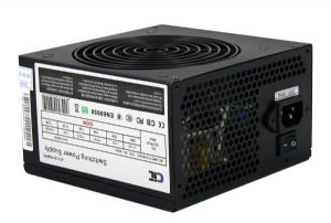 500W Black Edition PSU 12cm Dual 12v CE PFC Model 500UB